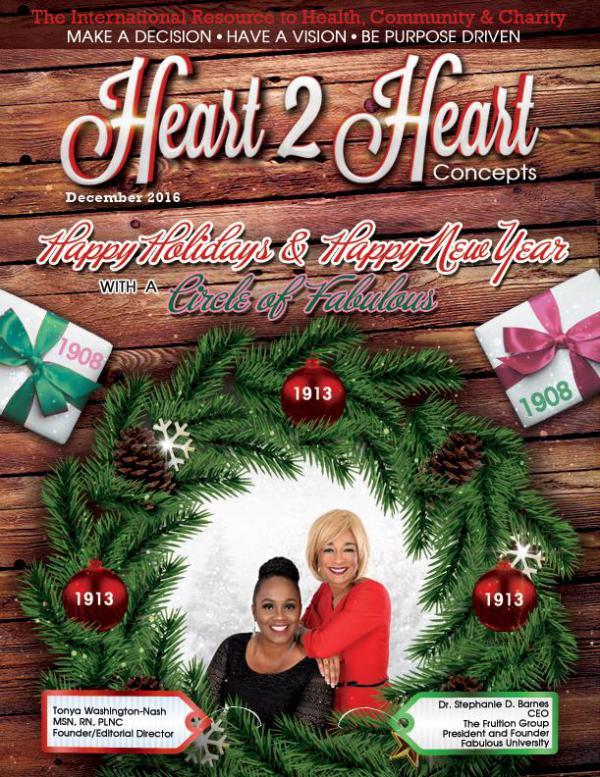 Heart 2 Heart Concepts Magazine DECEMBER/2016