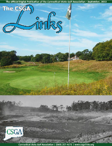 The CSGA Links Volume 1 Issue 6 September, 2013