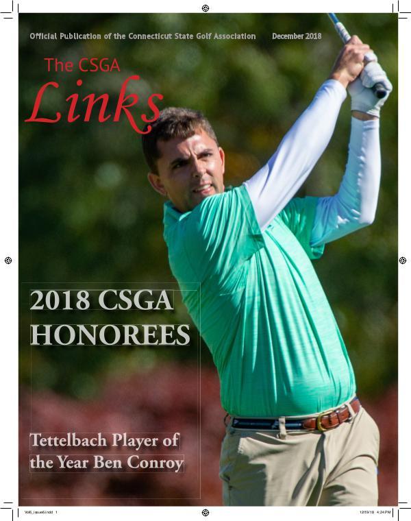 The CSGA Links Vol 6 Issue 6 pdf