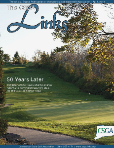 The CSGA Links Volume 1 Issue 1 April, 2013