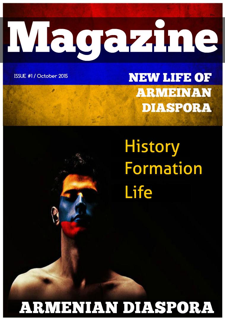 Armenian Diaspora Volume 1