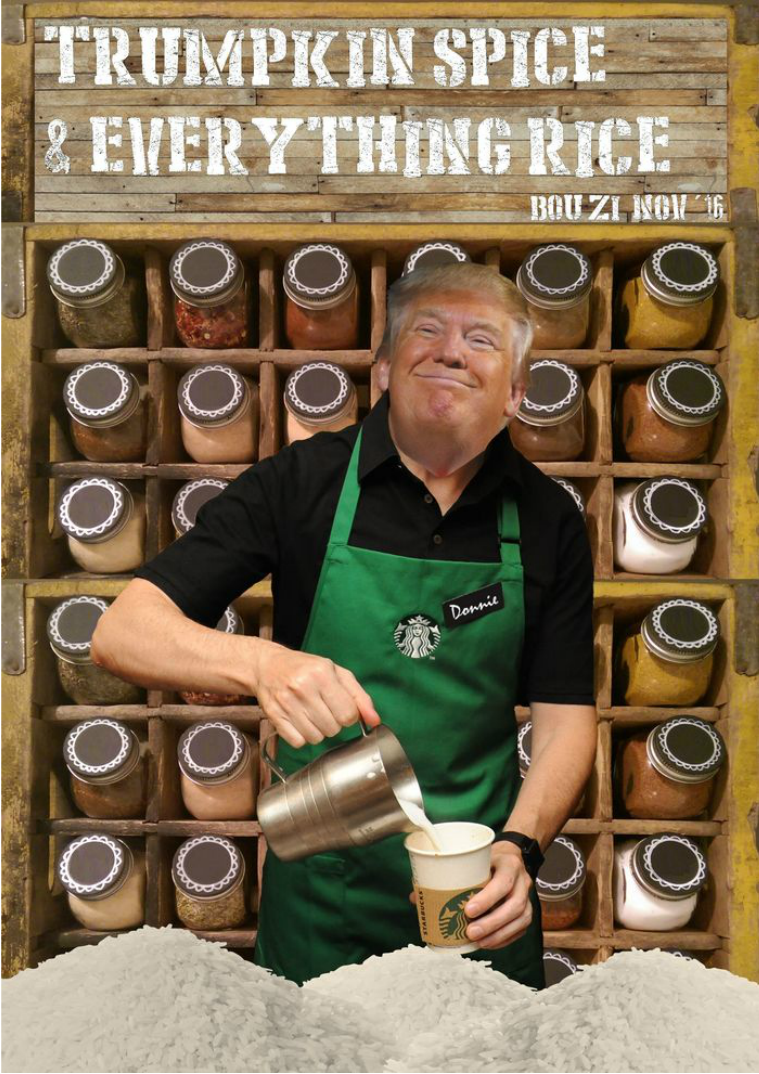 Trumpkin-Spice and Everything Rice