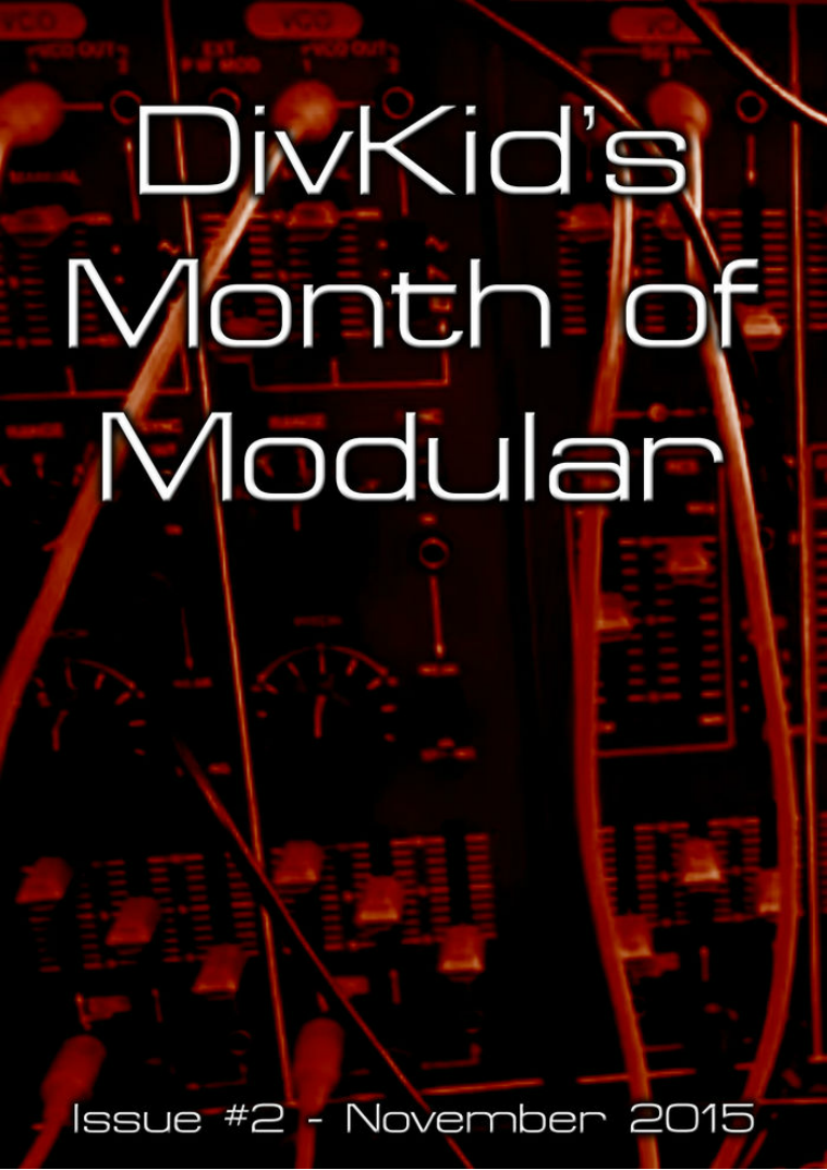 DivKid's Month Of Modular Issue #2 November 2015