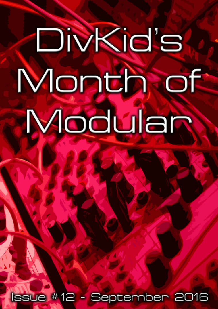 DivKid's Month Of Modular Issue #12 September 2016