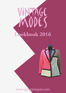 Vintage Modes Lookbook 2016