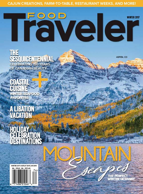 Food Traveler Magazine Winter 2017