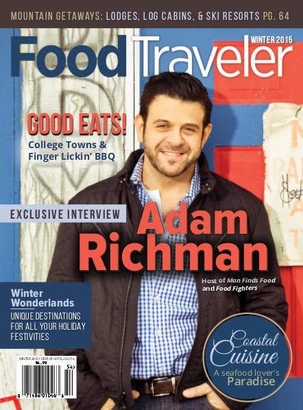 Food Traveler Magazine Winter 2015
