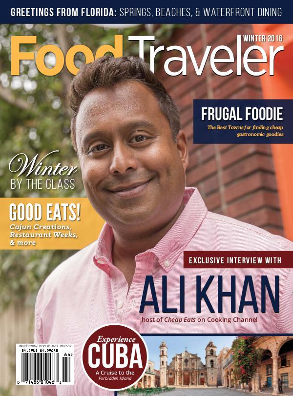 Food Traveler Magazine Winter 2016