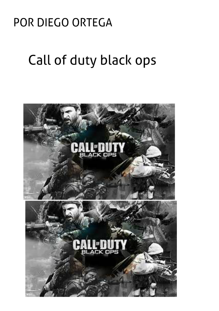 Call of duty black ops 2016