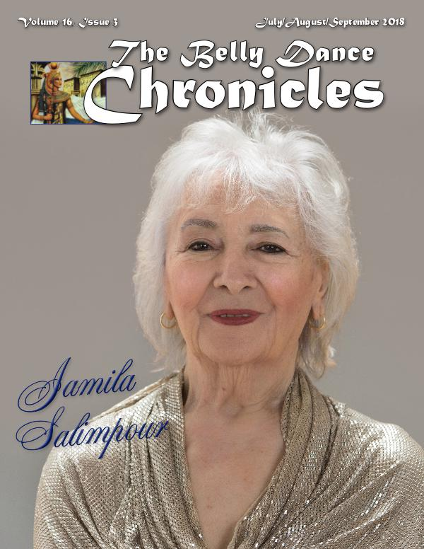 The Belly Dance Chronicles Jul/Aug/Sep 2018  Volume 16, Issue 3