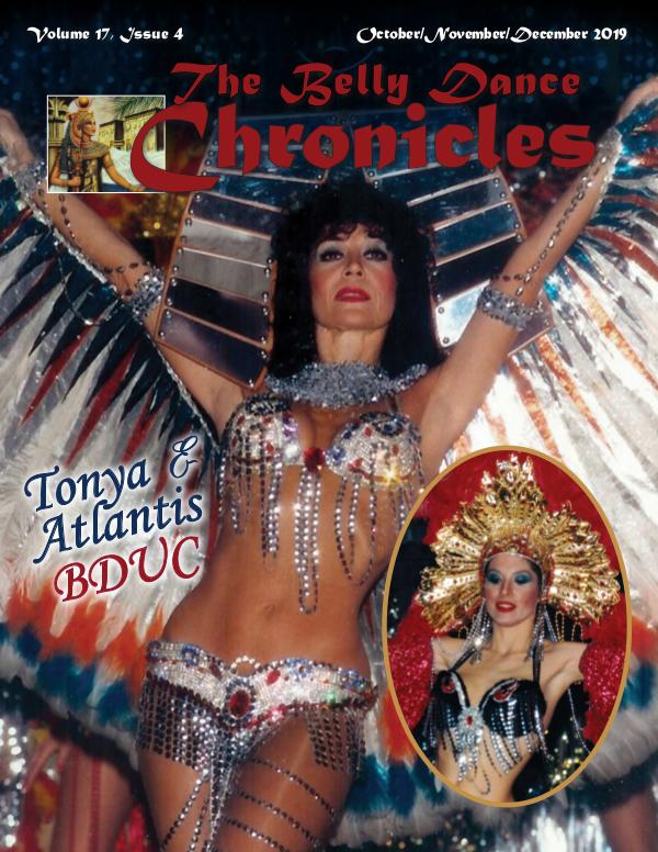 The Belly Dance Chronicles Oct/Nov/Dec 2019  Volume 17, Issue 4