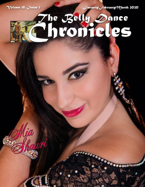 The Belly Dance Chronicles Jan/Feb/Mar 2020  Volume 18, Issue 1