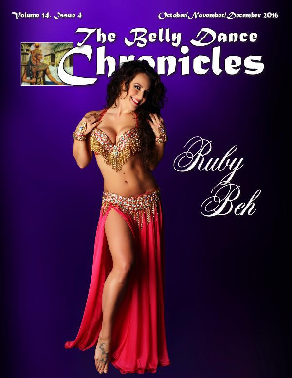 The Belly Dance Chronicles October/November/December 2016 Volume 14, Issue 4