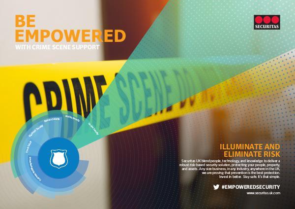 Securitas SHARE: Crime Scene Support Services