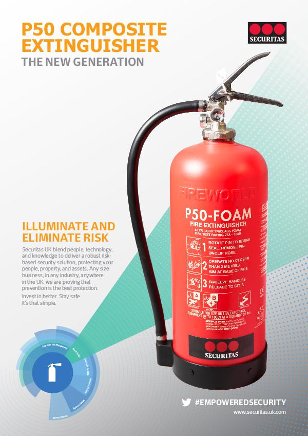 Securitas SHARE: P50 Fire Extinguisher