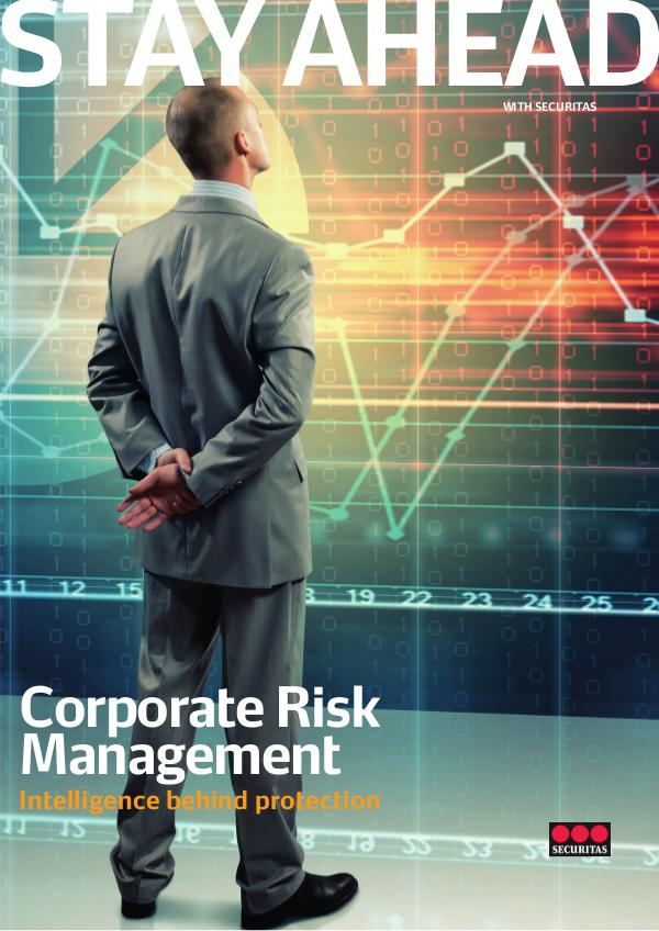 Stay Ahead Edition 6 Corporate Risk Management