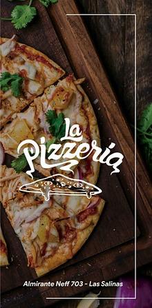 Menú La Pizzeria