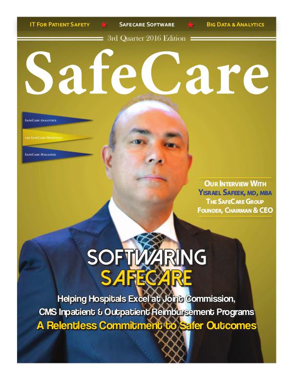 SafeCare 3rd Quarter 2016