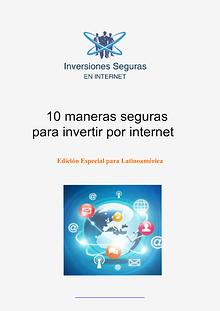 INVERSIONES SEGURAS EN INTERNET