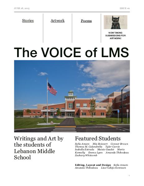 The VOICE of LMS Issue 2, June 2015