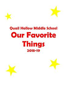 QHMS Favorite Things 2018-19