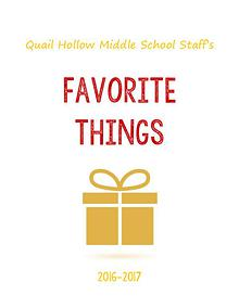 QHMS Favorite Things 2016-17