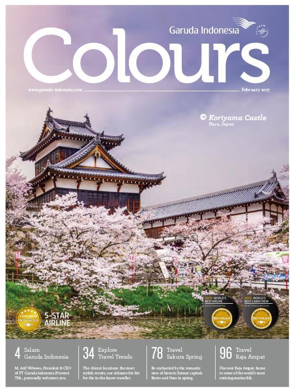 Garuda Indonesia Colours Magazine February 2017