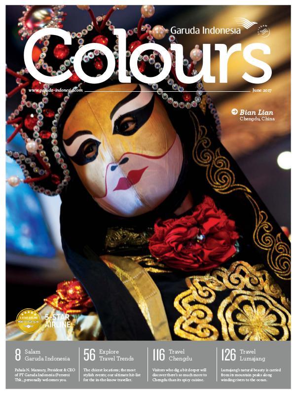 Garuda Indonesia Colours Magazine June 2017