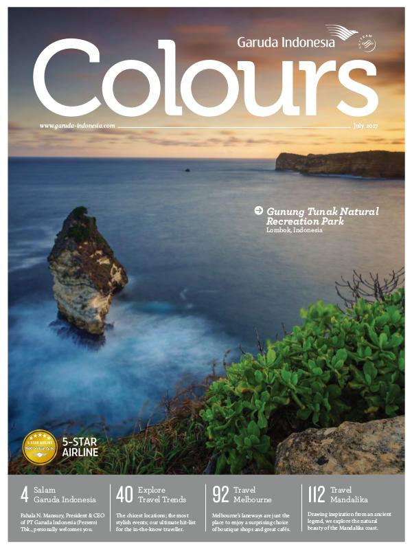 Garuda Indonesia Colours Magazine July 2017