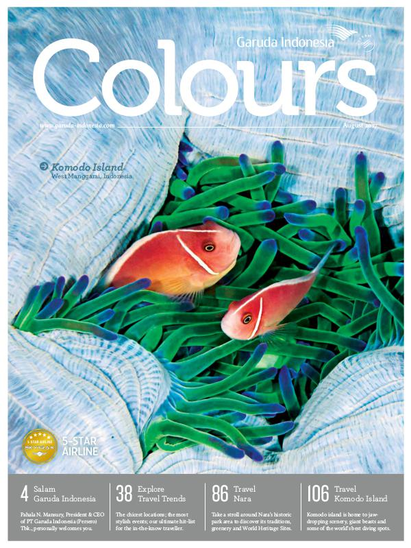 Garuda Indonesia Colours Magazine August 2017