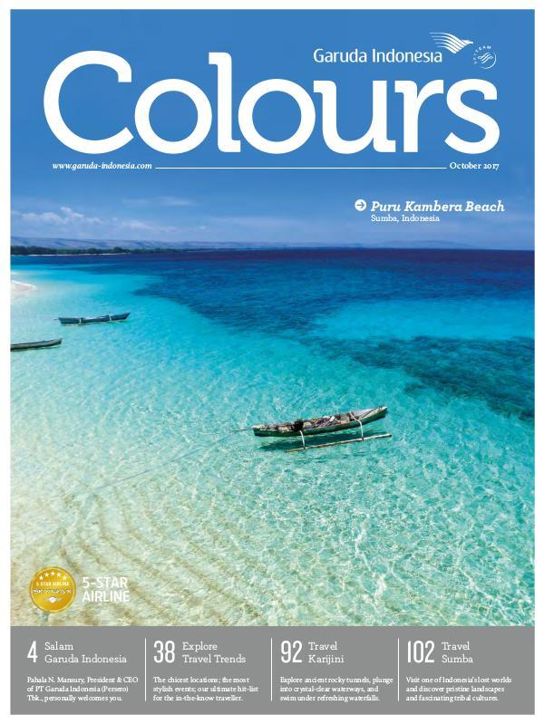 Garuda Indonesia Colours Magazine October 2017