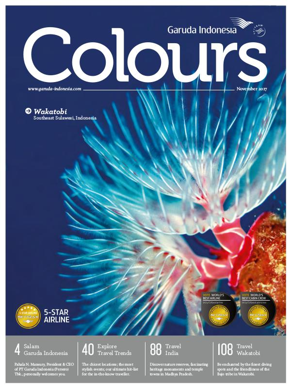 Garuda Indonesia Colours Magazine November 2017