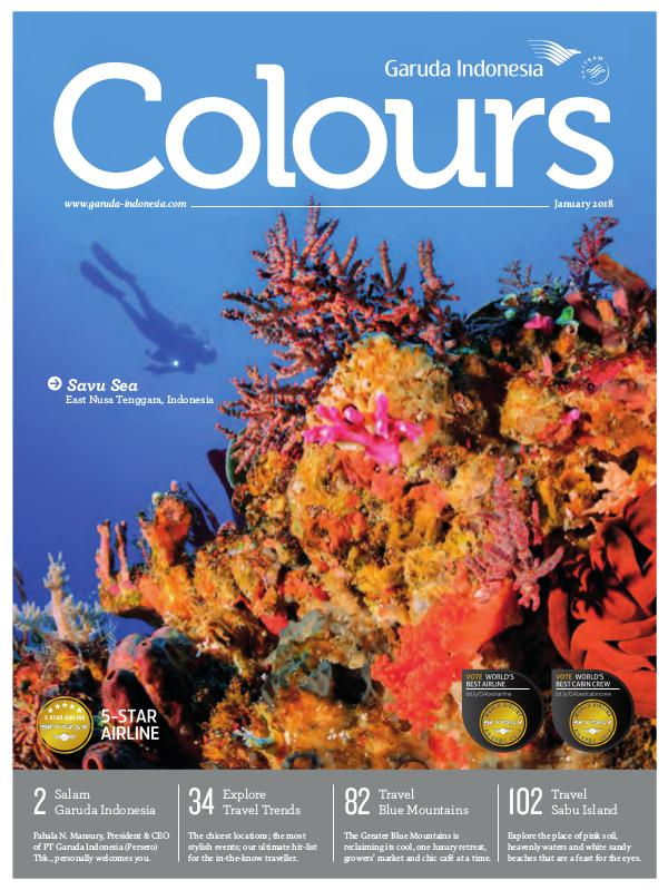 Garuda Indonesia Colours Magazine January 2018