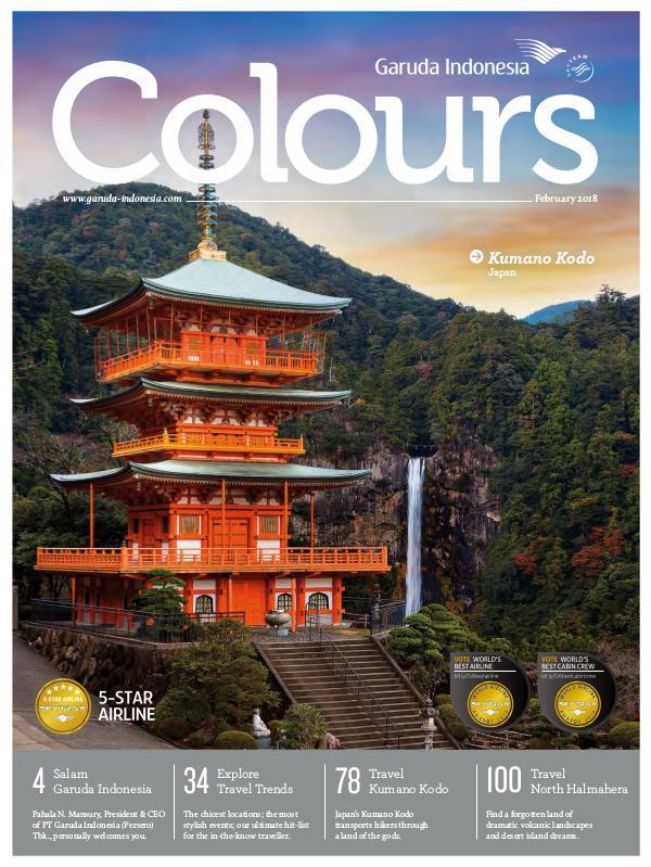 Garuda Indonesia Colours Magazine February 2018
