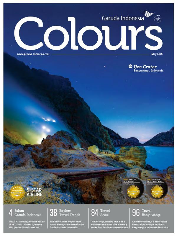 Garuda Indonesia Colours Magazine May 2018