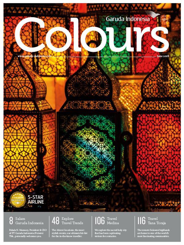 Garuda Indonesia Colours Magazine June 2018