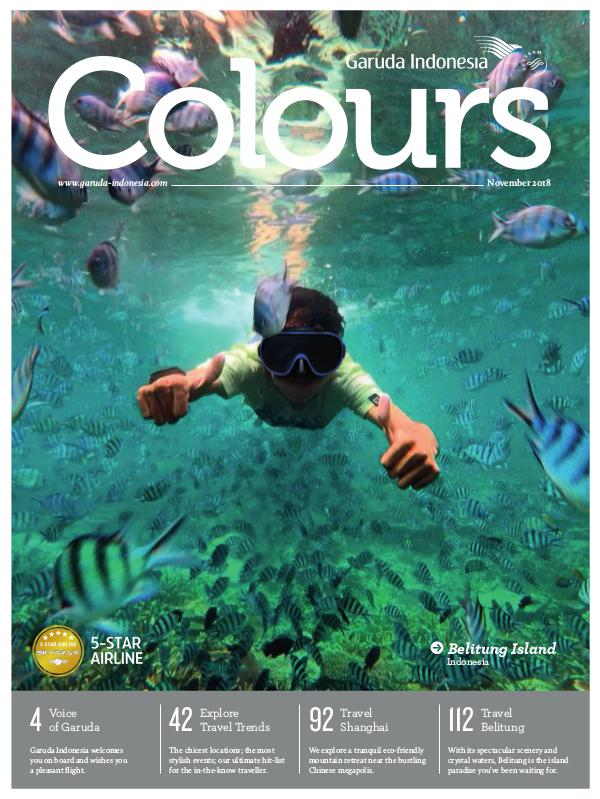 Garuda Indonesia Colours Magazine November 2018