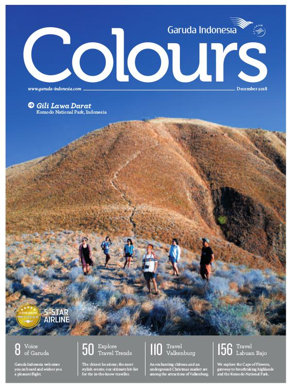 Garuda Indonesia Colours Magazine December 2018