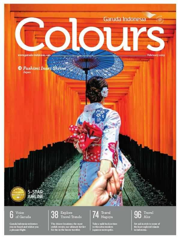Garuda Indonesia Colours Magazine February 2019