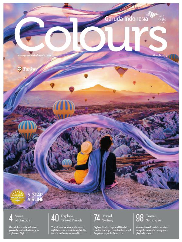 Garuda Indonesia Colours Magazine March 2019