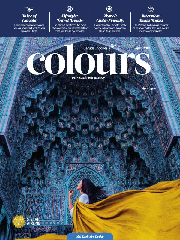 Garuda Indonesia Colours Magazine April 2019