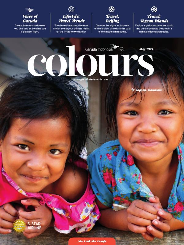 Garuda Indonesia Colours Magazine May 2019