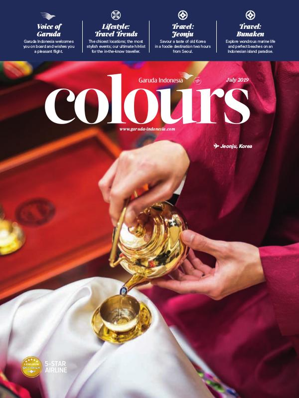 Garuda Indonesia Colours Magazine July 2019