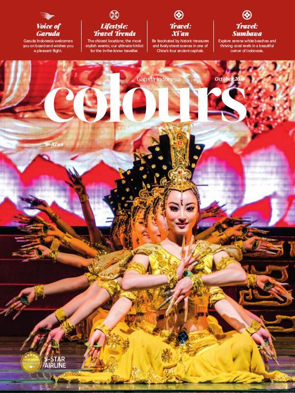 Garuda Indonesia Colours Magazine October 2019