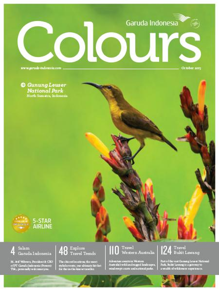 Garuda Indonesia Colours Magazine October 2015