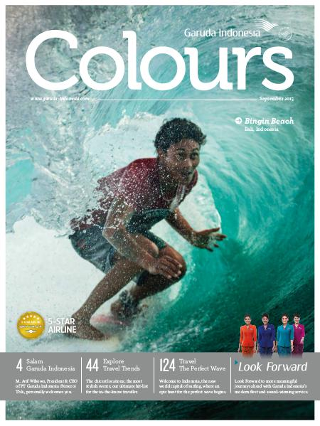 Garuda Indonesia Colours Magazine September 2015