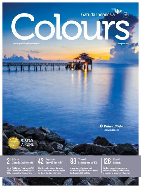 Garuda Indonesia Colours Magazine August 2015