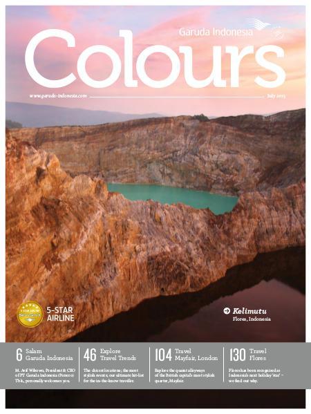 Garuda Indonesia Colours Magazine July 2015