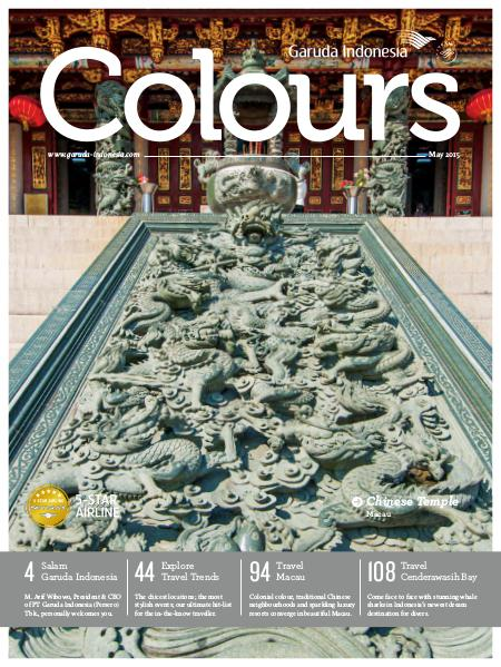 Garuda Indonesia Colours Magazine May 2015