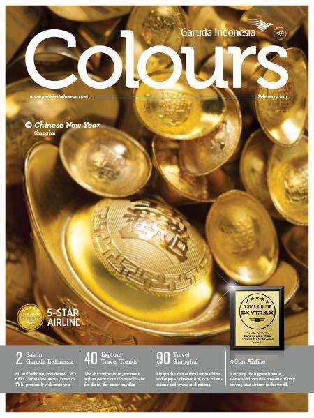 Garuda Indonesia Colours Magazine February 2015